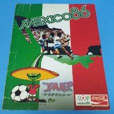 Coleccionismo deportivo: ÁLBUM DE CROMOS - MÉXICO 86 - JUGADORES DE LA SELECCIÓN ESPAÑOLA DE FÚTBOL. Lote 213689501