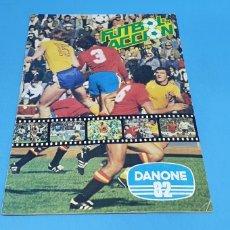 Coleccionismo deportivo: ÁLBUM DE CROMOS - FUTBOL EN ACCIÓN - DANONE 82. Lote 213695182