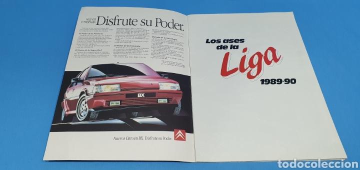 Coleccionismo deportivo: ÁLBUM DE CROMOS - LOS ASES DE LA LIGA 1989-90 - DIARIO AS - Foto 2 - 213696366