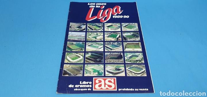 ÁLBUM DE CROMOS - LOS ASES DE LA LIGA 1989-90 - DIARIO AS (Coleccionismo Deportivo - Álbumes y Cromos de Deportes - Álbumes de Fútbol Incompletos)