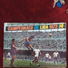 Coleccionismo deportivo: CAMPEONATO DE LIGA 1973-1974 (FALTA 1 CROMO). Lote 213707022