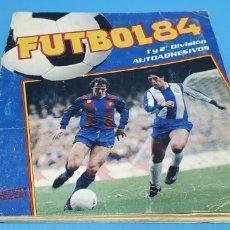 Coleccionismo deportivo: ÁLBUM DE CROMOS - FUTBOL 84 - PRIMERA Y SEGUNDA DIVISIÓN - CROMO CRON - PANINI. Lote 214170247