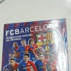 Coleccionismo deportivo: ALBUM PRECINTADO-MUY RARO F.C. BARCELONA 2008-2009-PANINI-ALBUM VACÍO-STICKERS BARCELONA-MESSI.. Lote 214267191
