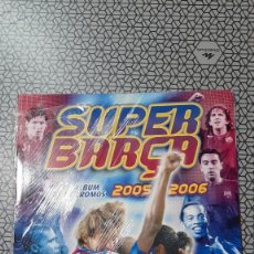Coleccionismo deportivo: ALBUM PRECINTADO SUPER BARÇA 2005-2006-MUY RARO-PANINI-ALBUM VACÍO BARCELONA-MESSI.. Lote 214267688