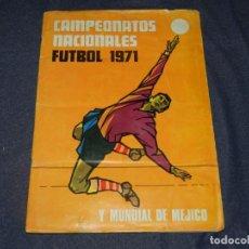 Coleccionismo deportivo: (M) CAMPEONATOS NACIONALES FUTBOL 1971 Y MUNDIAL DE MEJICO 70 , FALTAN 21 CROMOS, RUIZ ROMERO. Lote 214357921