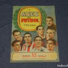 Coleccionismo deportivo: ALBUM ASES DEL FUTBOL 1 DIVISION , EDT BRUGUERA , FALTO DE 6 CROMOS , VER FOTOGRAFIAS. Lote 214405223