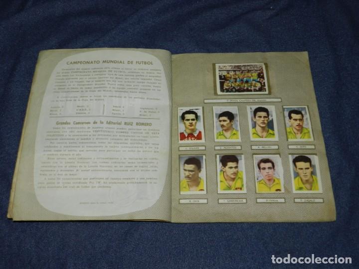Coleccionismo deportivo: ALBUM CAMPEONATOS NACIONALES FUTBOL 1959 , FALTAN 12 CROMOS, EDT RUIZ ROMERO, BARCELONA - Foto 3 - 214419866