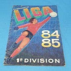 Coleccionismo deportivo: ÁLBUM - CAMPEONATO DE LIGA 84/85 PRIMERA DIVISIÓN CROMOS CANO, VACIO PLANCHA, VER Y LEER. Lote 214968366