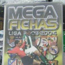 Coleccionismo deportivo: ALBUM INCOMPLETO. 312 CROMOS. MEGA FICHAS LIGA 2003-2004. CAMPEONATO NACIONAL DE LIGA A-ALB-1196. Lote 277036243