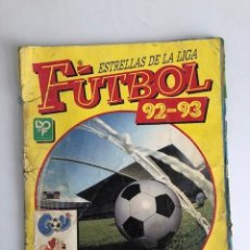 Coleccionismo deportivo: ESTRELLAS DE LA LIGA FUTBOL 92 - 93 / 1992 - 1993 PANINI MUY COMPLETO EN MAL ESTADO VER FOTOS. Lote 215328018