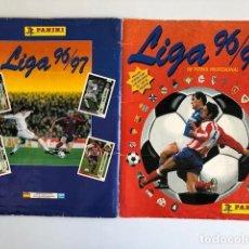Coleccionismo deportivo: ALBUM BASTANTE COMPLETO LIGA 96 - 97 DE FUTBOL PROFESIONAL PANINI VER FOTOS LEER DESCRIPCION. Lote 215624378