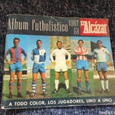Coleccionismo deportivo: ALBUM FUTBOLISTICO 1967 / 1968 EL ALCAZAR - INCOMPLETO. Lote 215718466