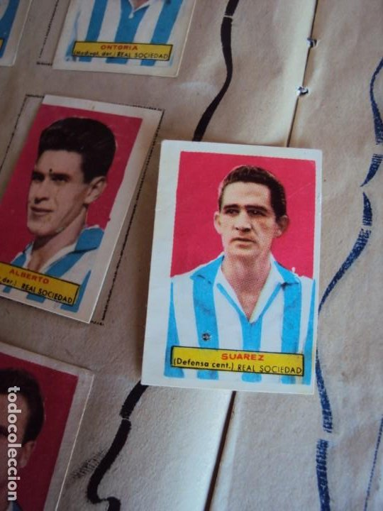 Coleccionismo deportivo: (F-200898)ALBUM ASES DEL FUTBOL AZAFRAN EL NIÑO - AÑOS 50 - FALTA 1 CROMO - Foto 6 - 215803098