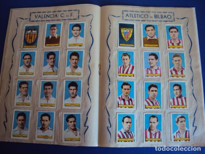 Coleccionismo deportivo: (F-200898)ALBUM ASES DEL FUTBOL AZAFRAN EL NIÑO - AÑOS 50 - FALTA 1 CROMO - Foto 8 - 215803098
