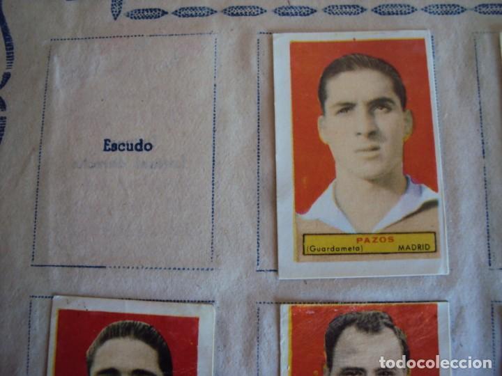 Coleccionismo deportivo: (F-200898)ALBUM ASES DEL FUTBOL AZAFRAN EL NIÑO - AÑOS 50 - FALTA 1 CROMO - Foto 12 - 215803098