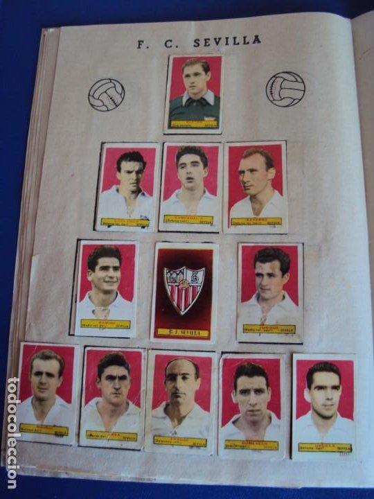 Coleccionismo deportivo: (F-200898)ALBUM ASES DEL FUTBOL AZAFRAN EL NIÑO - AÑOS 50 - FALTA 1 CROMO - Foto 15 - 215803098