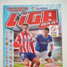 Coleccionismo deportivo: ALBUM PLANCHA LIGA BBVA 2014-2015 14-15 ESTE PANINI CON 6 CROMOS SIN PEGAR. Lote 215807890