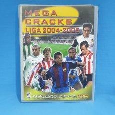 Coleccionismo deportivo: ÁLBUM MEGA CRACKS - LIGA 2004-2005 - PANINI. Lote 215996096