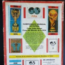 Coleccionismo deportivo: ÁLBUM CROMOS FÚTBOL CAMPEONATO MUNDIAL ARGENTINA 78 COPA DEL MUNDO JULES RIMET FIFA WORLD CUP 1978. Lote 216492080