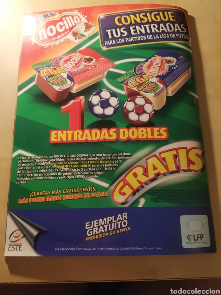 Coleccionismo deportivo: Album liga este 06 07 - 431 cromos, Messi, colocas, últimos fichajes - Foto 7 - 216568836