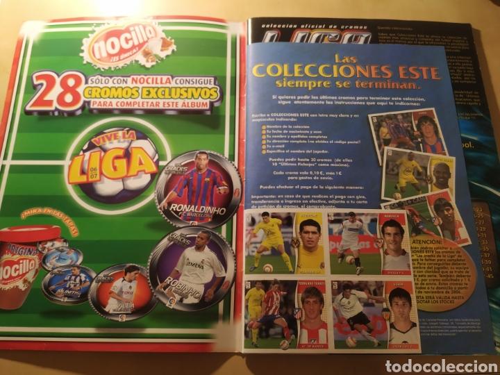 Coleccionismo deportivo: Album liga este 06 07 - 431 cromos, Messi, colocas, últimos fichajes - Foto 20 - 216568836