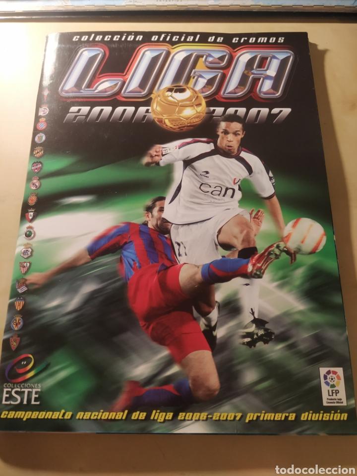 ALBUM LIGA ESTE 06 07 - 431 CROMOS, MESSI, COLOCAS, ÚLTIMOS FICHAJES (Coleccionismo Deportivo - Álbumes y Cromos de Deportes - Álbumes de Fútbol Incompletos)