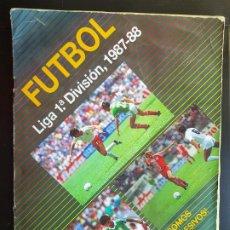 Coleccionismo deportivo: ÁLBUM CROMOS FÚTBOL LIGA 1 DIVISIÓN 1987-1988 70% COMPLETO 87-88 ESTADIO. Lote 216613105