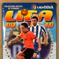 Coleccionismo deportivo: ÁLBUM DE CROMOS LIGA 2009 2010 (EDICIONES ESTE). CON 507 CROMOS (91 COLOCA) + 32 FICHAJES + 1 CROMOS. Lote 216618975