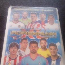 Coleccionismo deportivo: ALBUM PANINI ADRENALYN 2014-2015 CON 161 TRADING CARDS NO REPETIDAS. Lote 216849787