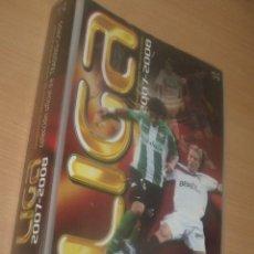 Coleccionismo deportivo: LIGA 2007-2008 COLECCION TRADING CARDS EDICIONES ESTADIO 313 FICHAS INCLUYE LA DE MESSI. Lote 216885192