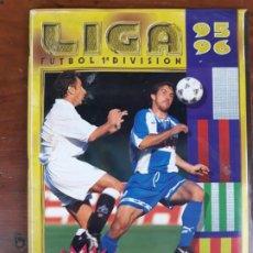 Colecionismo desportivo: ALBUM DE FUTBOL 1ª DIVISIÓN. LIGA 95 96.. Lote 216971048