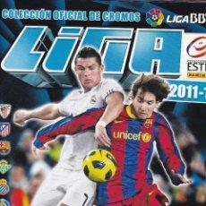 Coleccionismo deportivo: ALBUM DEL CAMPEONATO NACIONAL DE LIGA 2011/12, COLECCION OFICAL DE CROMOS LIGA BBVA LFP. Lote 217638115