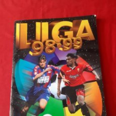 Coleccionismo deportivo: ÁLBUM DE CROMO DE FÚTBOL PRIMERA DIVISIÓN COLECCIONES ESTE LIGA 98-99. Lote 218281418