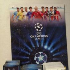 Coleccionismo deportivo: ALBUM VACIO + 320 CROMOS NUEVOS UEFA CHAMPIONS LEAGUE 2013 2014. Lote 218382262