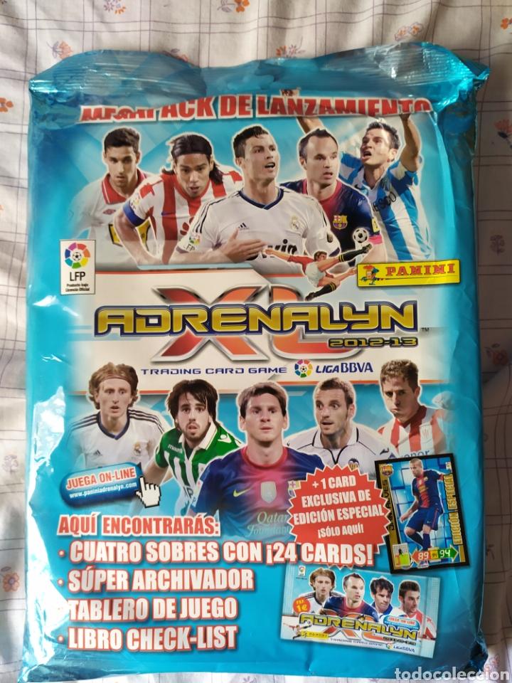 ADRENALYN 2012 2013 PANINI PACK INCIO NUEVO SIN ABRIR (Coleccionismo Deportivo - Álbumes y Cromos de Deportes - Álbumes de Fútbol Incompletos)