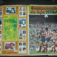Coleccionismo deportivo: ALBUM DE CROMOS FUTBOL. CAMPEONATO DE LIGA 1974-75. DISGRA. FOTO DE TODAS PAGINAS. VER DESCRIPCION... Lote 218597108