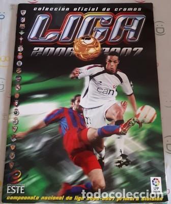 ÁLBUM INCOMPLETO ESTE LIGA 2006-2007, FALTAN 170 CROMOS Y 36 ÚLTIMOS FICHAJES (Coleccionismo Deportivo - Álbumes y Cromos de Deportes - Álbumes de Fútbol Incompletos)