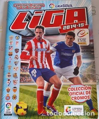 ÁLBUM INCOMPLETO ESTE LIGA 2014-2015, LE FALTAN 385 CROMOS Y 54 FICHAJES (Coleccionismo Deportivo - Álbumes y Cromos de Deportes - Álbumes de Fútbol Incompletos)
