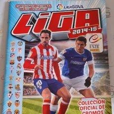 Coleccionismo deportivo: ÁLBUM INCOMPLETO ESTE LIGA 2014-2015, LE FALTAN 385 CROMOS Y 54 FICHAJES. Lote 218693765