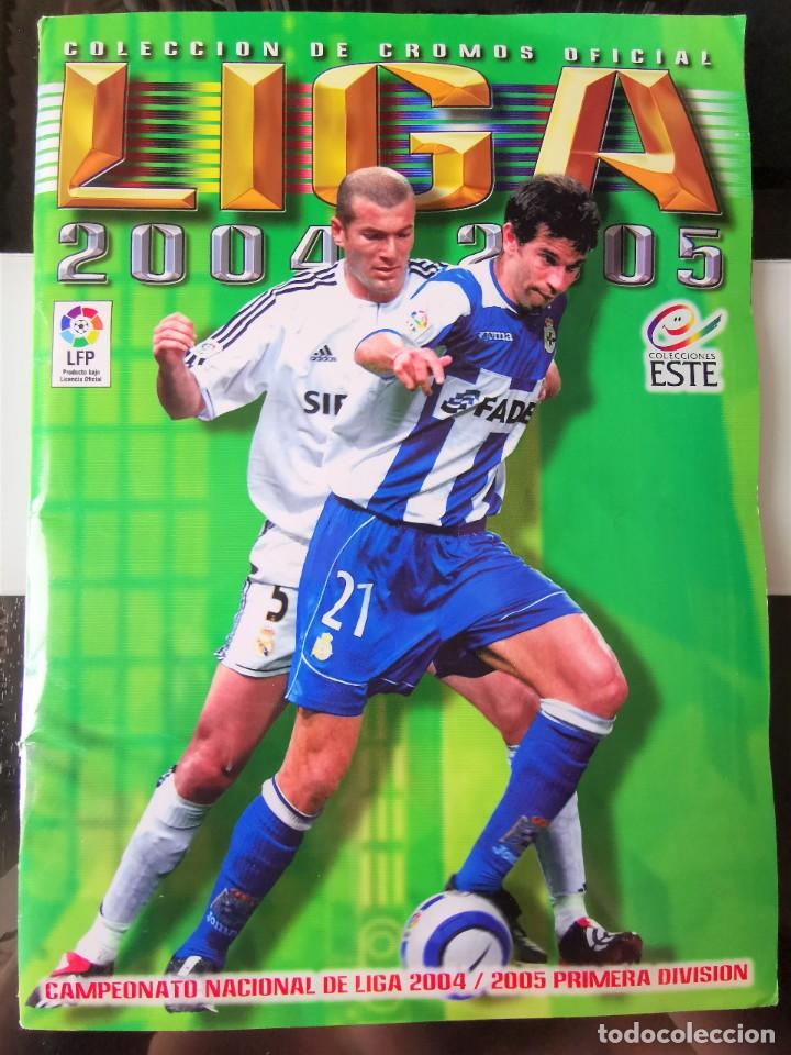 ALBUM CROMOS FUTBOL EDICIONES ESTE 04 05 LIGA 2004 2005 MESSI ROOKIE COLOCA EN VENTANILLA 509 CROMOS (Coleccionismo Deportivo - Álbumes y Cromos de Deportes - Álbumes de Fútbol Incompletos)