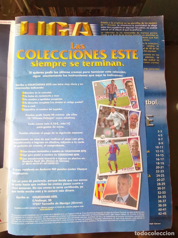 Coleccionismo deportivo: ALBUM CROMOS FUTBOL EDICIONES ESTE 04 05 LIGA 2004 2005 MESSI ROOKIE COLOCA EN VENTANILLA 509 CROMOS - Foto 3 - 218707542