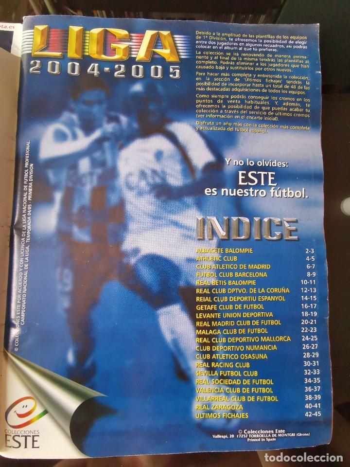 Coleccionismo deportivo: ALBUM CROMOS FUTBOL EDICIONES ESTE 04 05 LIGA 2004 2005 MESSI ROOKIE COLOCA EN VENTANILLA 509 CROMOS - Foto 4 - 218707542