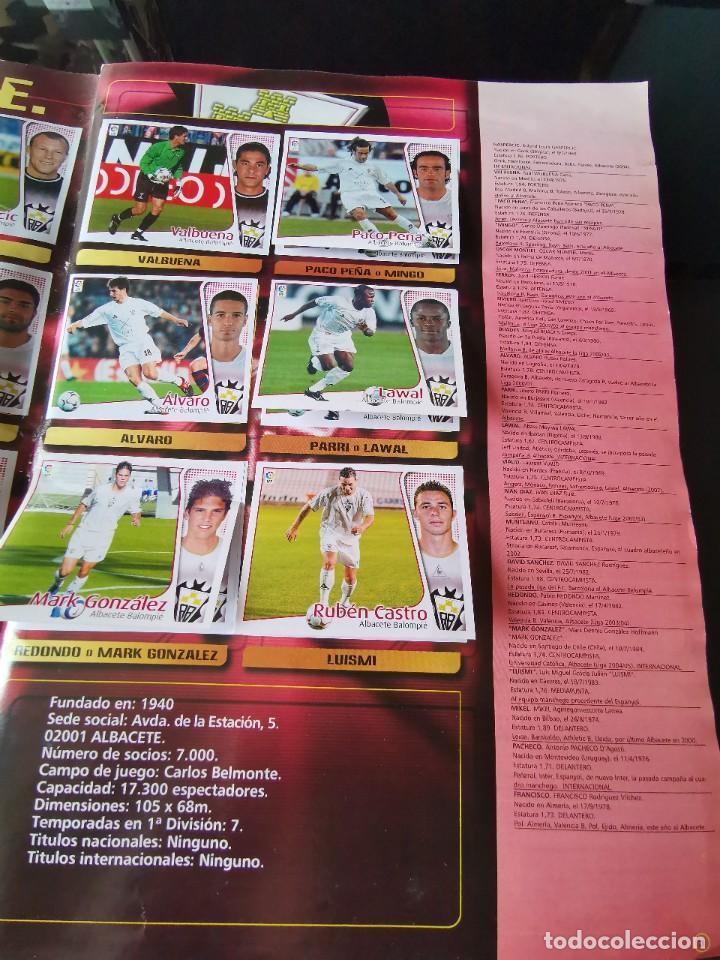 Coleccionismo deportivo: ALBUM CROMOS FUTBOL EDICIONES ESTE 04 05 LIGA 2004 2005 MESSI ROOKIE COLOCA EN VENTANILLA 509 CROMOS - Foto 6 - 218707542