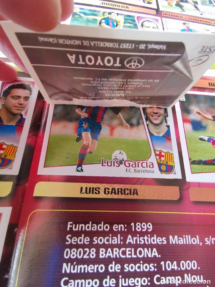 Coleccionismo deportivo: ALBUM CROMOS FUTBOL EDICIONES ESTE 04 05 LIGA 2004 2005 MESSI ROOKIE COLOCA EN VENTANILLA 509 CROMOS - Foto 14 - 218707542