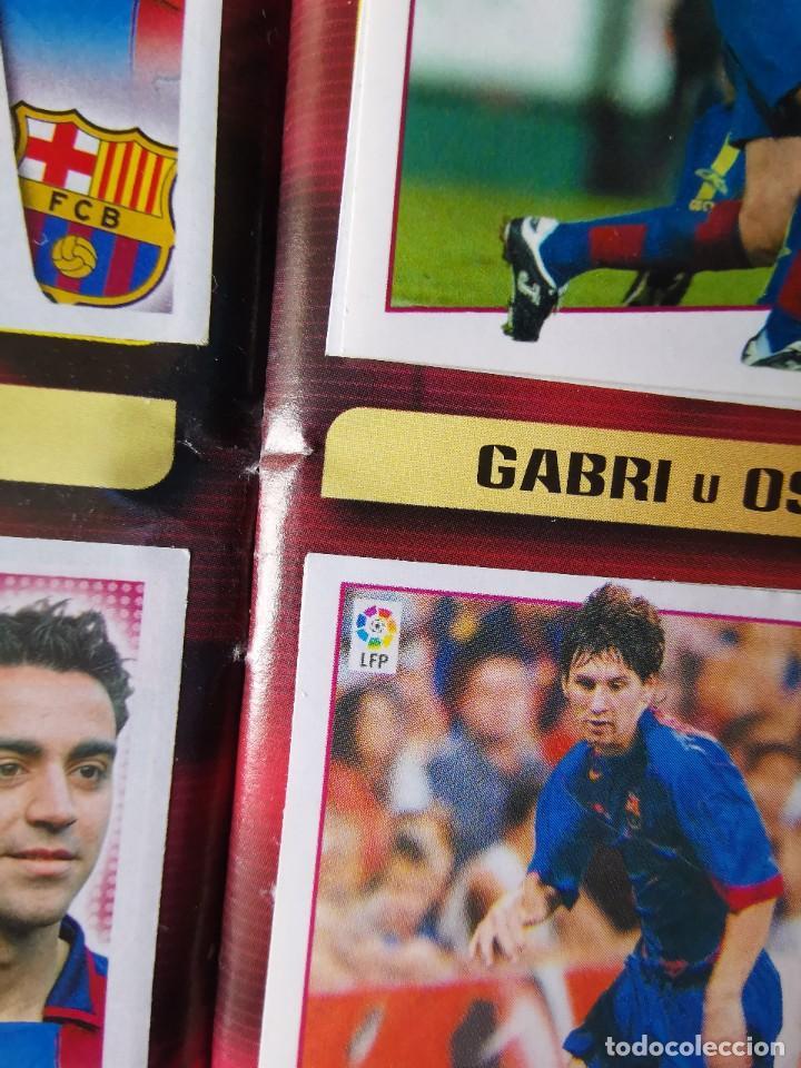 Coleccionismo deportivo: ALBUM CROMOS FUTBOL EDICIONES ESTE 04 05 LIGA 2004 2005 MESSI ROOKIE COLOCA EN VENTANILLA 509 CROMOS - Foto 17 - 218707542