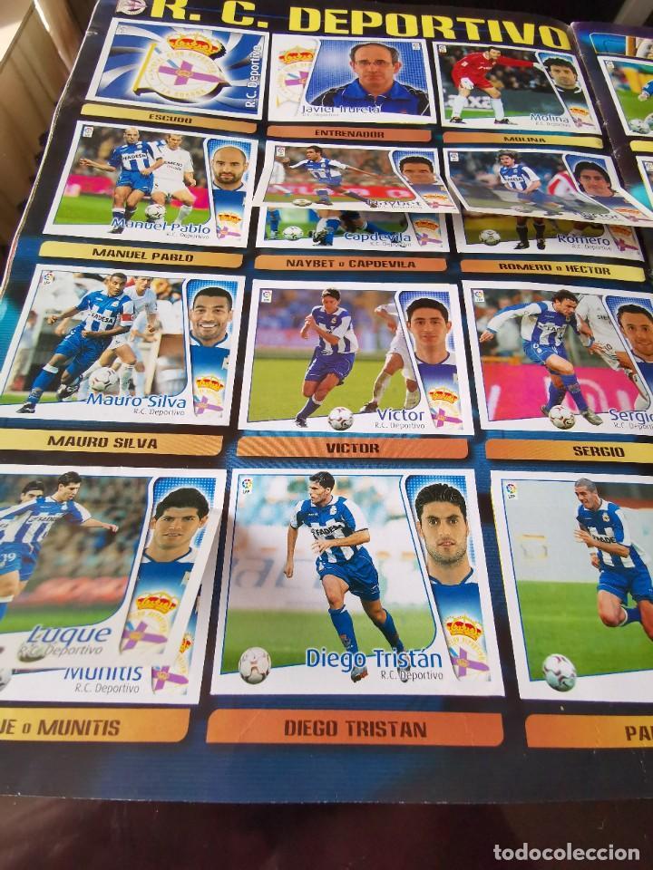 Coleccionismo deportivo: ALBUM CROMOS FUTBOL EDICIONES ESTE 04 05 LIGA 2004 2005 MESSI ROOKIE COLOCA EN VENTANILLA 509 CROMOS - Foto 22 - 218707542