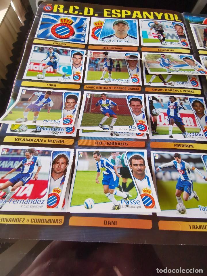 Coleccionismo deportivo: ALBUM CROMOS FUTBOL EDICIONES ESTE 04 05 LIGA 2004 2005 MESSI ROOKIE COLOCA EN VENTANILLA 509 CROMOS - Foto 24 - 218707542