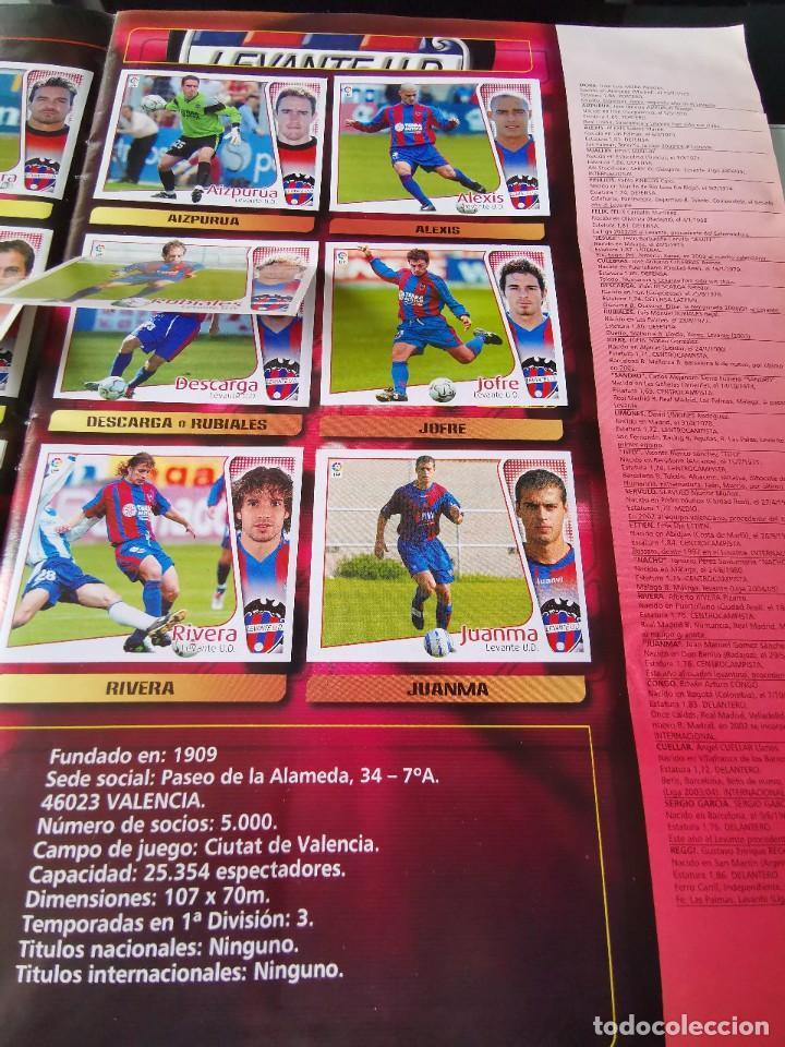 Coleccionismo deportivo: ALBUM CROMOS FUTBOL EDICIONES ESTE 04 05 LIGA 2004 2005 MESSI ROOKIE COLOCA EN VENTANILLA 509 CROMOS - Foto 29 - 218707542