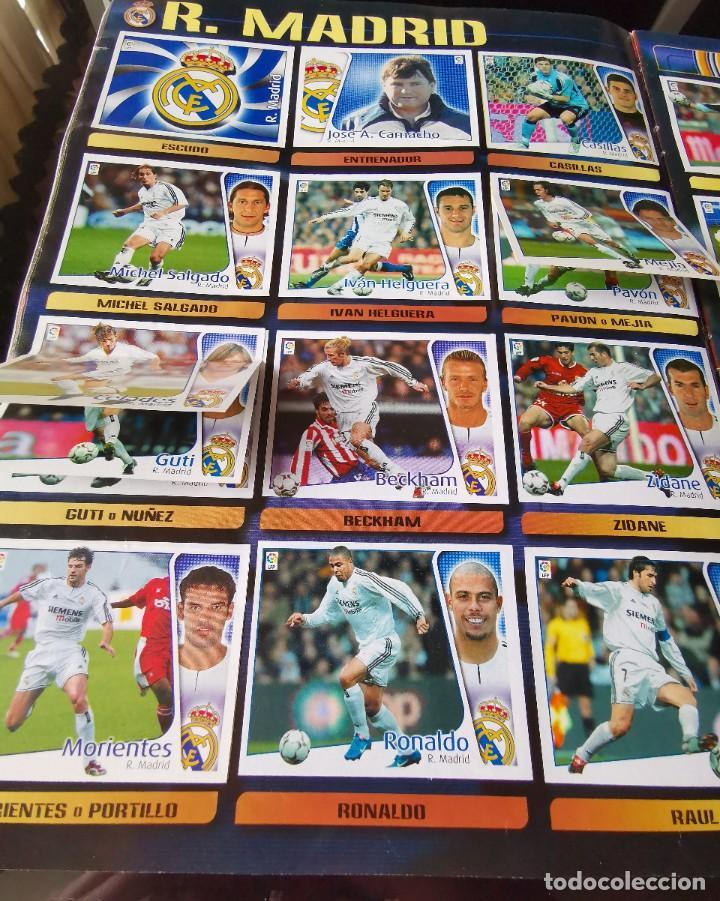 Coleccionismo deportivo: ALBUM CROMOS FUTBOL EDICIONES ESTE 04 05 LIGA 2004 2005 MESSI ROOKIE COLOCA EN VENTANILLA 509 CROMOS - Foto 30 - 218707542