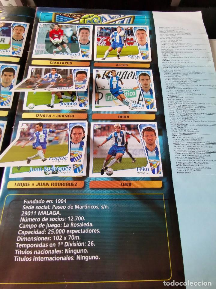 Coleccionismo deportivo: ALBUM CROMOS FUTBOL EDICIONES ESTE 04 05 LIGA 2004 2005 MESSI ROOKIE COLOCA EN VENTANILLA 509 CROMOS - Foto 33 - 218707542